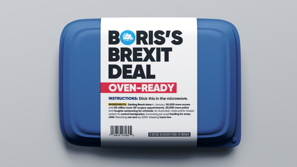 Oven-ready No Deal